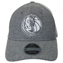 Dallas Mavericks NBA 'Cashmere' 9Twenty Strapback Baseball Cap Dad Hat in
