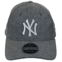 New York Yankees MLB 'Cashmere' 9Twenty Strapback Baseball Cap Dad Hat alternate view 2