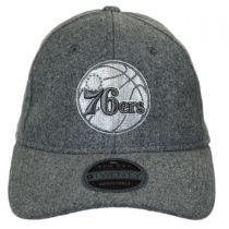 Philadelphia 76ers NBA 'Cashmere' 9Twenty Strapback Baseball Cap Dad Hat alternate view 2