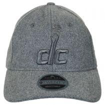 Washington Wizards NBA 'Cashmere' 9Twenty Strapback Baseball Cap Dad Hat alternate view 2