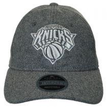 New York Knicks NBA 'Cashmere' 9Twenty Strapback Baseball Cap Dad Hat alternate view 2