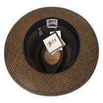 Collonade Panama Straw Fedora Hat in