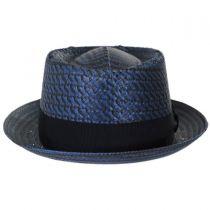 Remick Toyo Straw Pork Pie Hat in