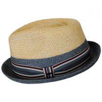 Rokit Toyo Straw Braid Trilby Fedora Hat alternate view 7