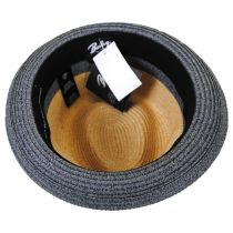 Rokit Toyo Straw Braid Trilby Fedora Hat alternate view 12