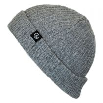 Fisherman Rib Knit Beanie Hat alternate view 2