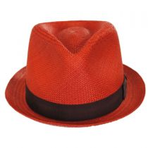 Sydney Panama Straw Fedora Hat alternate view 3