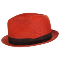 Sydney Panama Straw Fedora Hat alternate view 10