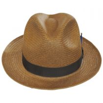 Cosmo Toyo LiteStraw Trilby Fedora Hat alternate view 2