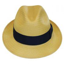 Lando Toyo LiteStraw Fedora Hat in