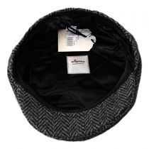 Herringbone Wool Ivy Cap in
