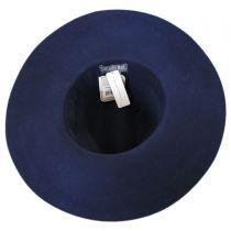 Joanne Wide Brim Wool Felt Fedora Hat alternate view 6