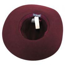 Joanne Wide Brim Wool Felt Fedora Hat alternate view 12