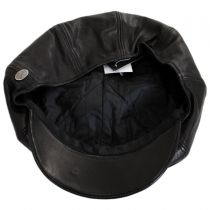 Noclin Leather Newsboy Cap alternate view 12