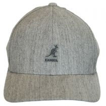 Logo Wool FlexFit Fitted Baseball Cap alternate view 82