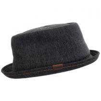 Denim Mowbray Pork Pie Hat in