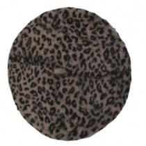 Leopard Print Angora Beret alternate view 2