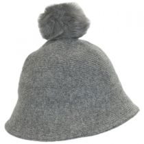 Pom Knit Wool Bucket Hat alternate view 5