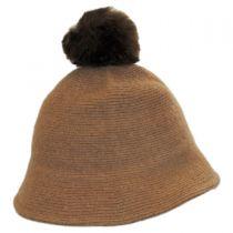 Pom Knit Wool Bucket Hat alternate view 11