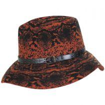 Python Wool Felt Fedora Hat alternate view 7