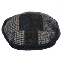 Cheesecutter Patchwork English Wool Tweed Ivy Cap alternate view 2