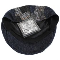 Cheesecutter Patchwork English Wool Tweed Ivy Cap alternate view 4