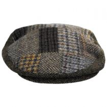 Cheesecutter Patchwork English Wool Tweed Ivy Cap alternate view 6