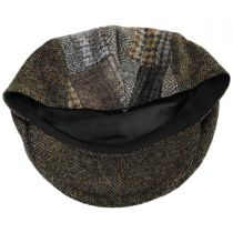 Cheesecutter Patchwork English Wool Tweed Ivy Cap alternate view 8