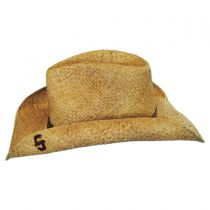 Comstock Straw Western Hat alternate view 7