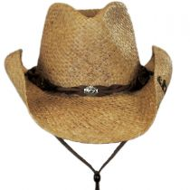 Comstock Straw Western Hat alternate view 2