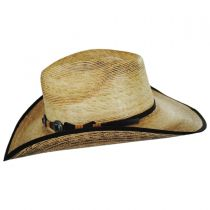 Kimball Palm Leaf Straw Western Hat alternate view 11