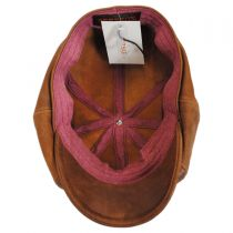 Goat Leather Newsboy Cap alternate view 4