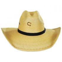 Maverick Palm Straw Western Hat alternate view 14