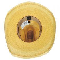 Maverick Palm Straw Western Hat alternate view 16