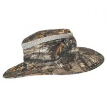 NFZ Camo Sun Shield Safari Fedora Hat in