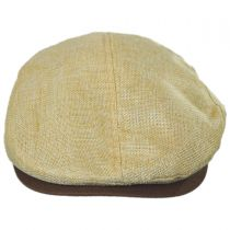Two-Tone Burlap Ivy Cap in