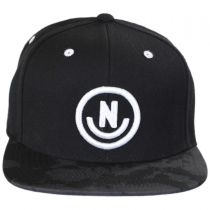 Daily Smile Pattern Snapback Baseball Cap in