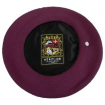 Authentique Classic Wool Beret in