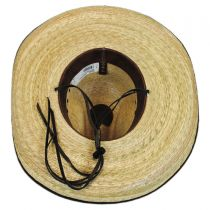 Bandito Palm Leaf Straw Gus Hat alternate view 4