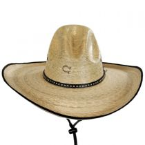 Bandito Palm Leaf Straw Gus Hat alternate view 6