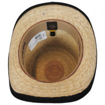 Rock Ridge Palm Leaf Straw Top Hat in