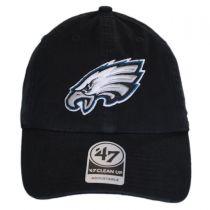 Philadelphia Eagles NFL Clean Up Strapback Baseball Cap Dad Hat alternate view 2