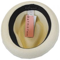 Joanne Toyo Straw Trilby Fedora Hat alternate view 8