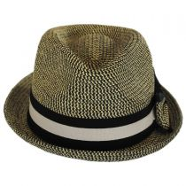 Joanne Toyo Straw Trilby Fedora Hat alternate view 2