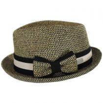 Joanne Toyo Straw Trilby Fedora Hat alternate view 3