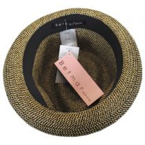 Joanne Toyo Straw Trilby Fedora Hat alternate view 4