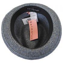 Joanne Toyo Straw Trilby Fedora Hat in
