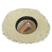 Monterey Toyo Straw Fedora Hat alternate view 4