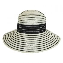 Jasmine Toyo Straw Sun Hat in
