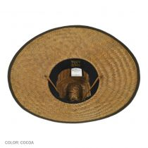 Palm Leaf Straw Lifeguard Hat alternate view 4